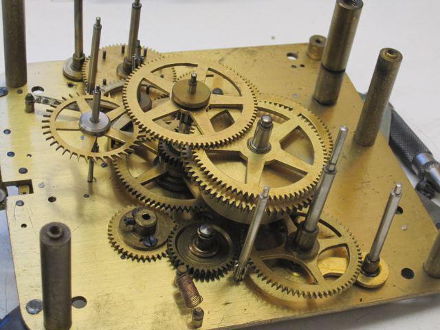 Hirschede electric clock movement  – Edina Clock Repair